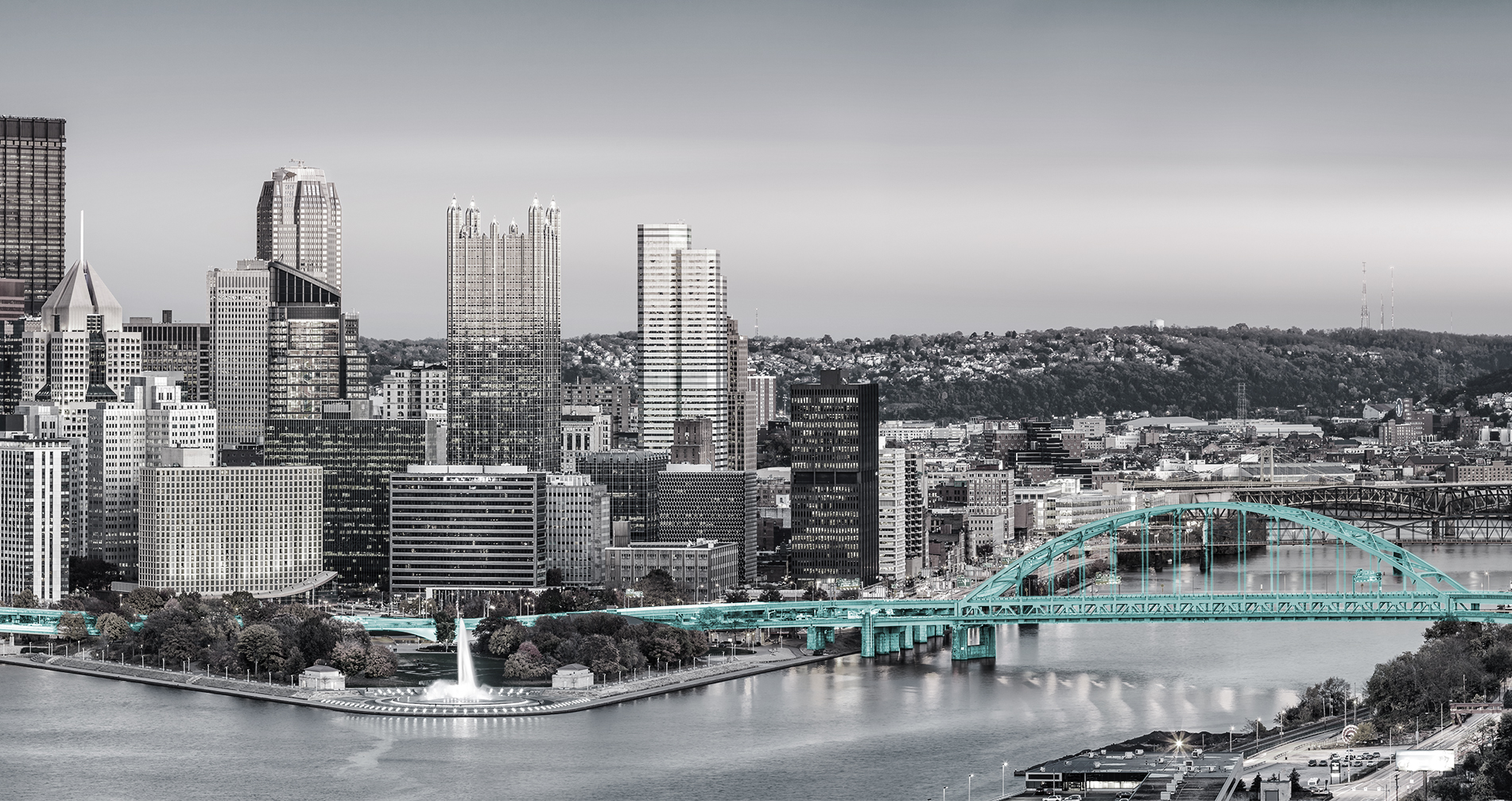 Pittsburgh Skyline from Pinnacle Accounting and Finance